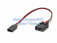 ID Charger Adapter: Traxxas Female to Futaba Receiver LiPo TRX TRA2970 TRA2972