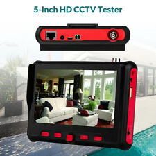 5 Inch 8MP IP CCTV Camera Tester AHD TVI CVI Security Monitor Test Analog ONVIF