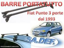 Barre portatutto per Fiat Punto 3 porte dal 1993 al 1999