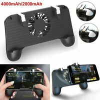 4000mAh PUBG Shooter Controller Smartphone Game Trigger Fire Button +Ventilatore