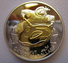 1999 CANADA TOONIE NUNAVUT PROOF STERLING SILVER TWO DOLLAR COIN