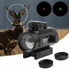 40Holographic Red Dot Laser Sight Rifle Scope Hunting Airsoft Collimator