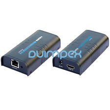 HDMI Extender estensione tramite LAN cat5 cat6 rj45 Cavo di rete 1080p AMPLIFICATORE