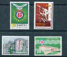 ROC CHINA 1475 - 1478 1966 CHINA POSTAL SERVICE Mint Never Hinged Set