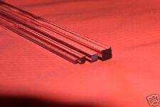 Trasparente Acrilico Perspex Quadrato Solido BAR Personalizzato Ordine