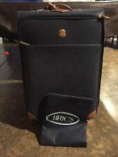 "NEW Brics Navy Life 30"" Spinner Luggage Trunk Bric's 4 Wheels Italy PRICE DROP!"