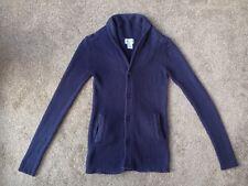 Men's La Redoute Buttoned Cardigan, Navy, Size XS