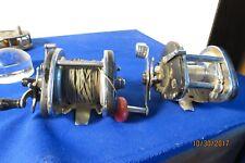 2 Vintage Levelwind Reels For Parts