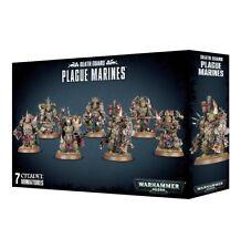 Death Guard Plague Marines Warhammer 40000 Games workshop Brand New Chaos