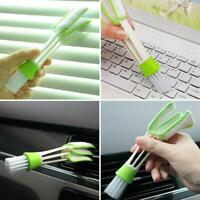NEW Double Ended Car-Air Vent Dust Cleaning Brush Ventilation CleanerTool B K5S6