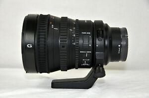 Sony G-Series 28-135mm f/4 FE PZ G OSS Parfocal Zoom Lens.