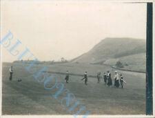 More details for dodhead golf club group 2nd green original  edwardian photo original 4x3