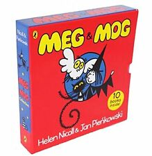 Meg and Mog 10 Books Box Set Collection Brand New & Sealed RRP £59.90