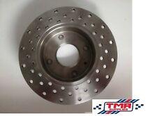 Escort Brake Discs x 2 Drilled and Skimmed Brisca F2