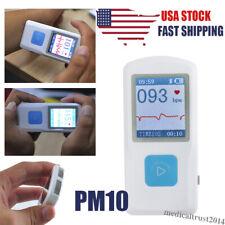 Pm10 Portable Handheld Ecg Machine Heart Beat Monitor Usb Bluetooth Home Clinic