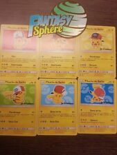 Pokemon  Pikachu de Sacha lot de 6 cartes pour le Film Je te Choisis en Francais