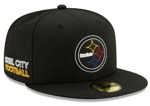 Official 2020 NFL Draft Pittsburgh Steelers New Era 59FIFTY Fitted Hat