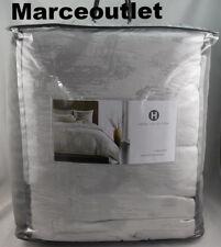 Hotel Collection Interlattice FULL / QUEEN Comforter Silver