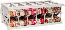 Large Food Organizer - Multiple Can Sizes - Designed for Canned Goods for Cupboa