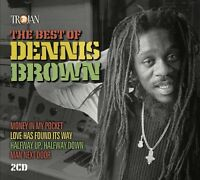DENNIS BROWN - BEST OF (2CD)  2 CD NEU