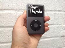 Hard Disk UPGRADE Service iPod Classic 7gen 160gb a 400gb * 6 LAV GARANZIA *