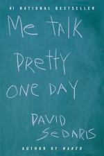 Me Talk Pretty One Day by  David Sedaris a paperback book ** FREE SHIPPING ** 1