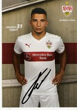 Arianit Ferati , VfB Stuttgart , Autogrammkarte Saison 2015/2016 , 15/16