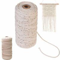 100% natürlichen beige baumwolle bindfäden string nähen, stricken diy - seil