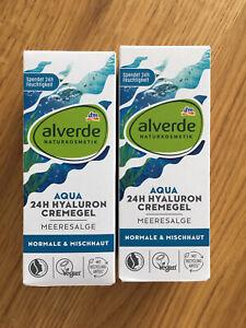 ALVERDE Naturkosmetik Aqua CREMEGEL HYALURON