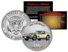 1969 CHEVROLET CORVETTE L88 Expensive Auction Muscle Car JFK Half Dollar US Coin