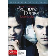 THE VAMPIRE DIARIES-Season 7-Region 4-New AND Sealed-5 Dics Set-TV Series