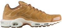 Nike Men's Air Max Plus AH9697-201 Wheat White Shoes Sz 11.5 Mens Running RARE