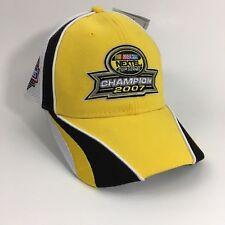 Nascar Jimmy Johnson  48 Nextel Cup Series Champion 2007 Cap Hat Chase  Lowe s 49f4a1dcb35d