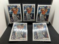 2020 Topps Bowman Yordan Alvarez Rookie Card RC Lot of (5) #25 📈Invest