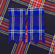 Kilt Sock Flashes Heritage of Scotland Tartan/Kilt Hose Flashes/kilt Flashes