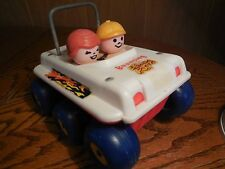 Vintage Fisher Price Bouncy Buggy Pull Toy
