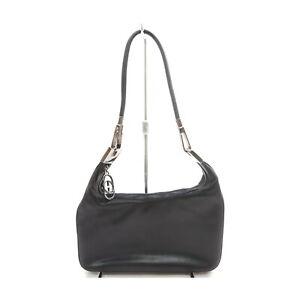 Gucci Shoulder Bag  Black Leather 1528292