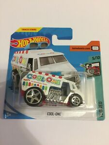 Hot Wheels Cool-One Track Stars Tooned 2020 Short Card 5/10 Brand New
