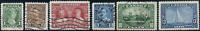 Canada #211-216 used VF 1935 King George V Silver Jubilee Issue Set CV$18.00
