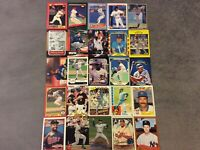 HALL OF FAME Baseball Card Lot 1980-2020 NOLAN RYAN JOHNNY BENCH FRANK THOMAS+