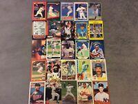 HALL OF FAME Baseball Card Lot 1980-2020 NOLAN RYAN JOHNNY BENCH FRANK THOMAS+
