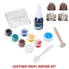 Leather Vinyl Repair Kit Fix Holes Car Boat Bike Seat Home Furniture Repair Tool
