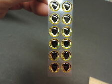 "18 HOLO HURRICANE 3D Soft Molded 10mm .3937/"" Adhesive Eyes Fly Tying Lures"
