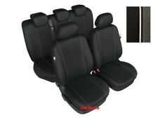 Full Set Tailored Black Seat Covers For Nissan Navara (HH)
