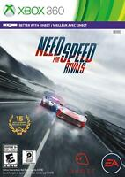 Need for Speed Rivals XBOX 360 Game Used