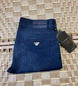 Men's Armani Jeans Denim Slim fit Blue