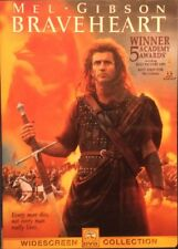 Braveheart Dvd 2000 Widescreen Edition Used Good Condition