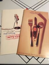 Hiawatha Council Recipes for Success Cook Book 1999 BOYPOWER Dinner Larry King
