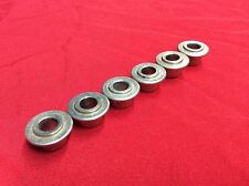 VINTAGE 1971 USA GIBSON LES PAUL GUITAR TUNER BUSHING SET NICKEL FERRULE 1972