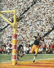 1967 Green Bay Packers MAX MCGEE vs Chiefs Glossy 8x10 Photo Super Bowl I Poster